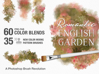Photoshop Breakthrough! Romantic English Garden Brush Studio