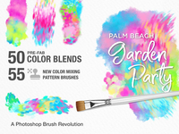 Photoshop Breakthrough! Palm Beach Garden Party Brush Studio