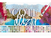 Paint in colors of the Côte d'Azur!