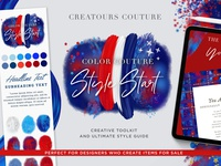 Fourth of July Creative Kit and Photoshop Brushes