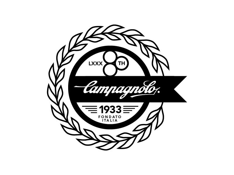 Campagnolo 80th Anniversary Logo -- Circle by Nand ...