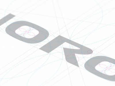 Ranoro Logotype Construction ranoro ranoro.com logo construction
