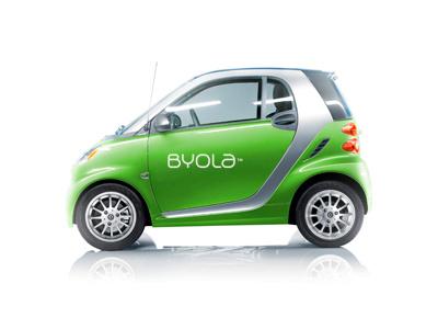 BYOLA Branding logo design radek blaska branding byola byola.com