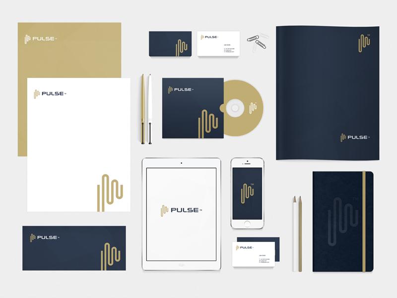 Pulse Stationary option pulse logo brand radek blaska radekblaska radekblaska.com p symbol mark impulse markets finance