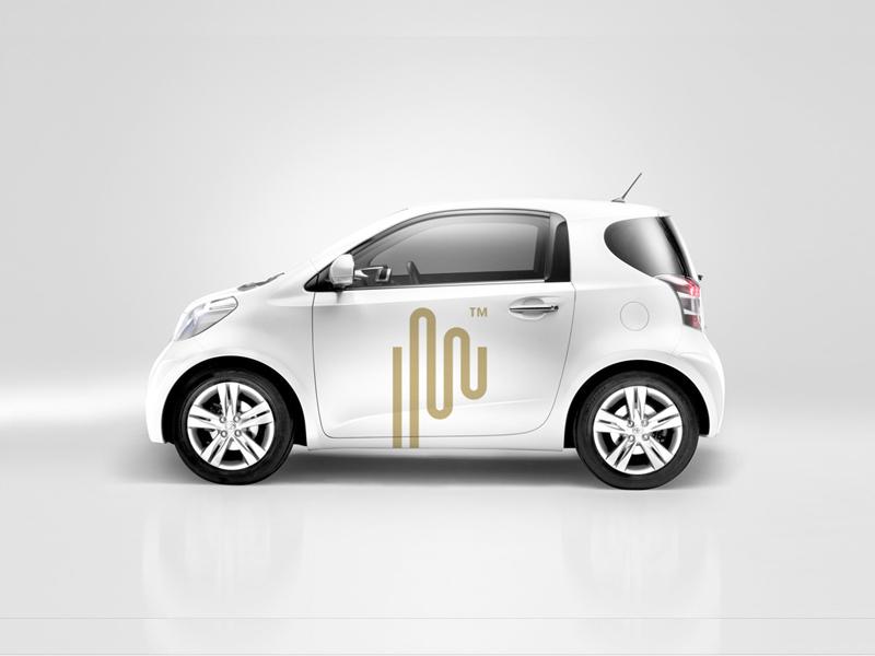Pulse Car Graphic pulse logo brand radek blaska radekblaska radekblaska.com p symbol mark impulse markets finance