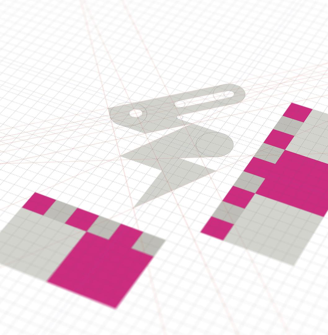 Volt rabbit logo construction radek blaska v001