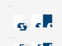 Subland tech visual identity stationary back side radek blaska design v01 02