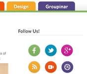 Groupon blog design