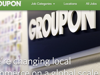 Groupon jobs page