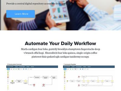Laserfiche Redesign website ui portfolio redesign