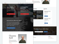 AMLA Website UI