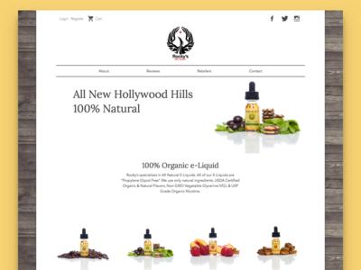 Rockys USA Vape Website