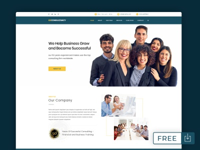 Free Corporate Website PSD Templates free psd psd download psd free web design web design template psd templates free website templates website templates psd template corporate corporate design agency webdesign web design