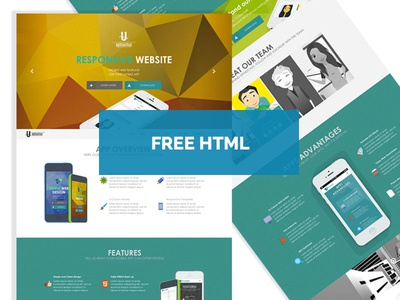Free - Ophiuchus HTML5/CSS3 Template