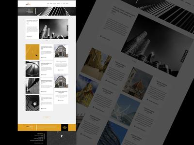 Blog Page - Arkitekto Theme Design