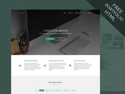 Freebie! - Portfolio HTML
