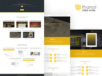 Free! Portfolio HTML Template
