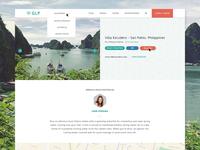 GLP Web App Design