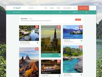 GLP Web App Design - Listings/Logout
