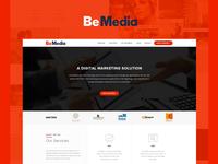 Digital Marketing Agency Website Redesign