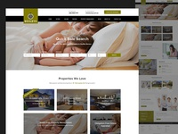 Real Estate Web Redesign Homepage Draft#1