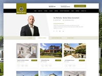 Real Estate Web Redesign - Agent Page