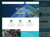 Shipping Company Web ReDesign