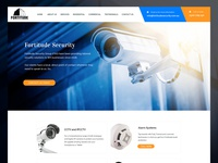 Security Company Web ReDesign