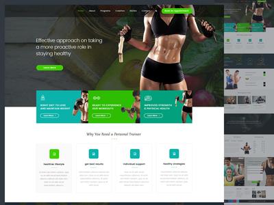 Fitness Web Design