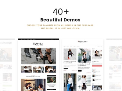 The Biggest & Newest WordPress Blog Theme in the Universe magazine blog wordpress theme blog theme wordpress blog theme big wordpress theme minimal simple personal blogging bloggers