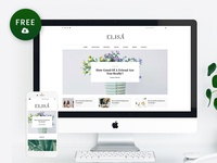 Freebie – Elisa WordPress Blog Theme