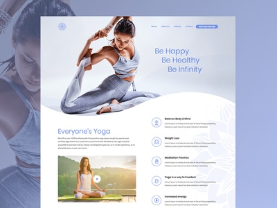 Fitness Web Design Demo