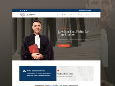 WordPress theme for Attorneys and Law Firms law firms judge attorneys lawyers wordpress themes wordpress web design
