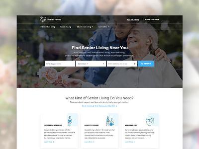 Senior Care Directory Web Design web directory web design