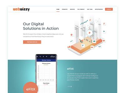 Web Design for an AI Software Company wordpress website digital software web development web developer web design