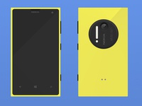Lumia 1020 Flat