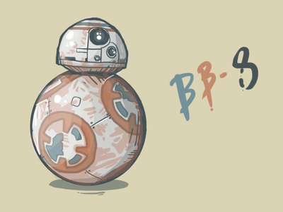 May the fourth BB-8 you! robot droid star wars bb8