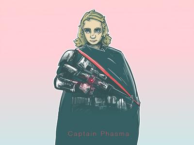 Captain Phasma captain phasma star wars stormtrooper chrome gwendoline christie