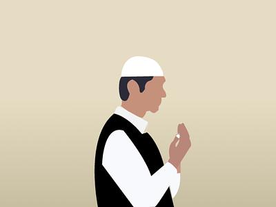 Vector Praying