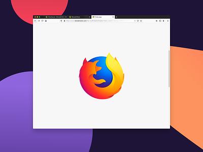 Firefox Mockup - Sketch Freebie sketch uikit ui  ux ui webdesign web website freebie mockup firefox brand mozilla
