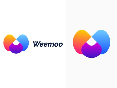 W Letter Logo| Weemoo Branding Design w letter logo w logo letter logo agency agency branding logo inspiration logo ideas app icon abstract logo modern design gradient logo branding design branding app logo modern logo graphic design logo design logo brand identity brand