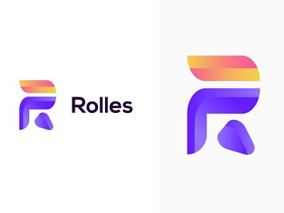 R Letter Logo Concept | R  Lettermark logotype modern r logo monogram lettermark r letter r logo logo inspiration logo ideas app icon abstract logo modern design gradient logo branding design branding app logo modern logo logo design logo brand identity brand