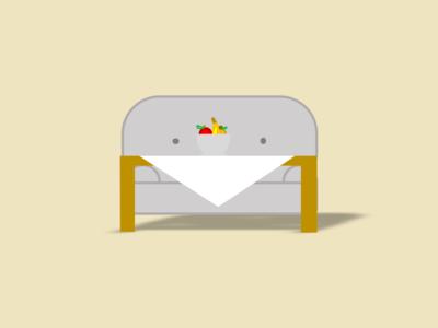 Sofa powerpoint design powerpoint house table fruit icon logo vector illustration design furniture sofa