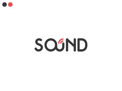 sound logo concept type design minimalist logo minimalist sound design sound flat branding minimal logo design