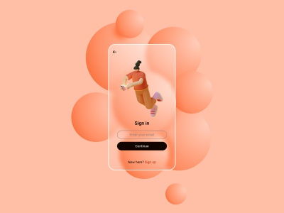 BubbleApp 3d bubbles graphic trendy mobile app ios illustration 3dillustration glass glassmorphism 3d art graphicdesign design 2021 ui