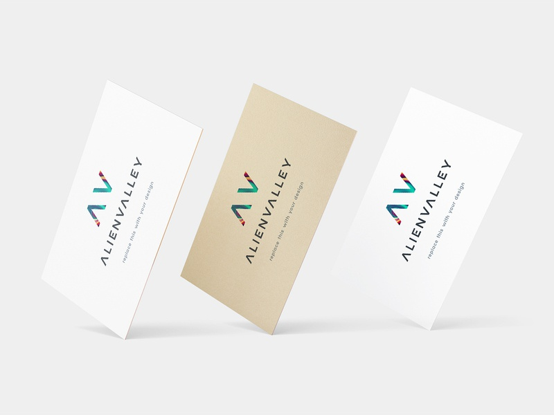 Freebie: Floating Business Cards freebies free psd free psd mockups free psd mockup free mockups free mockup psd free mockup free stationery psd mock-up mock up mockup logo identity freebie design business card design business card branding