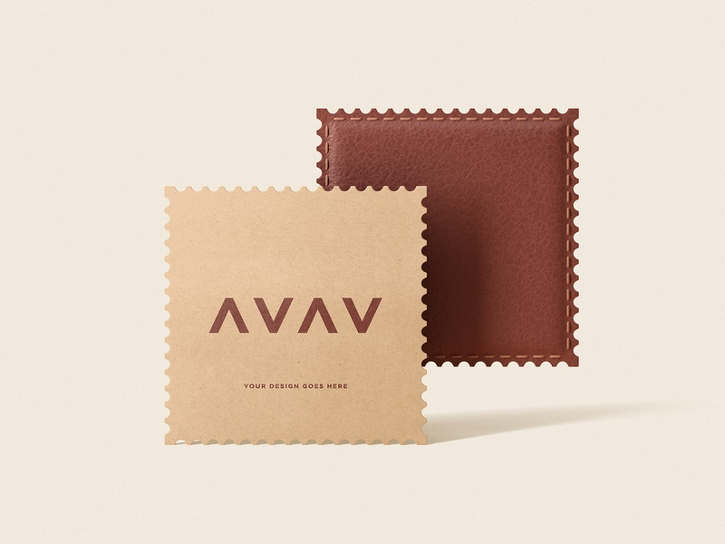 Freebie: Leather And Paper Patches freebies free psd free psd mockups free psd mockup free mockups free mockup psd free mockup free stationery psd mock-up mock up mockup logo identity freebie design branding