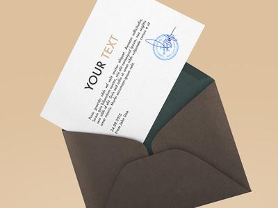 FREEBIE: Envelope Mockup 2