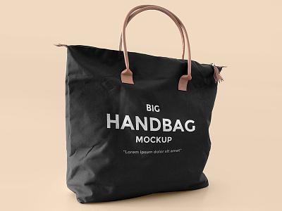 FREEBIE: Big Handbag Mockup fashion free handbag bag mock up mock-up mockup freebie design psd