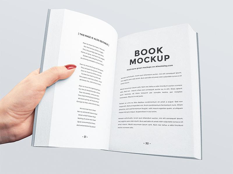 Freebie: Open Book Mockup branding stationery pages open book book mockup book mock up mock-up mockup freebie